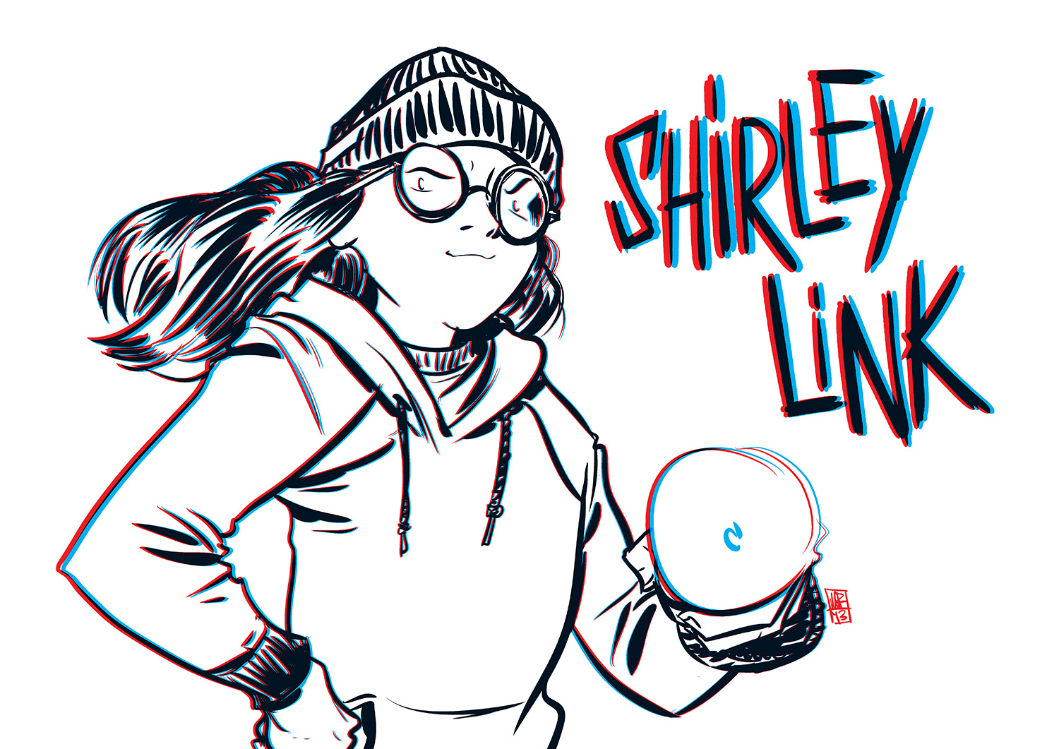 Shirley Link in 3D!