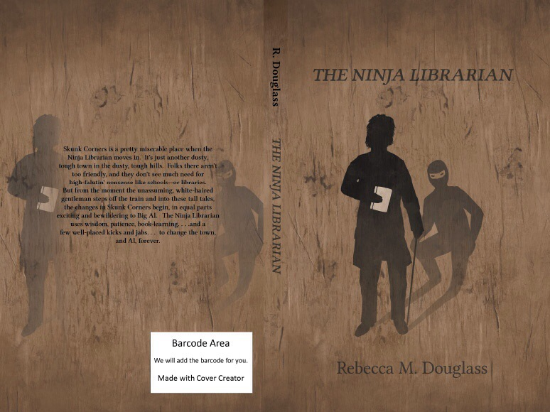 The Ninja Librarian by Rebecca Douglass is a fantastic read [The 12 Authors of Christmas Blog Tour]