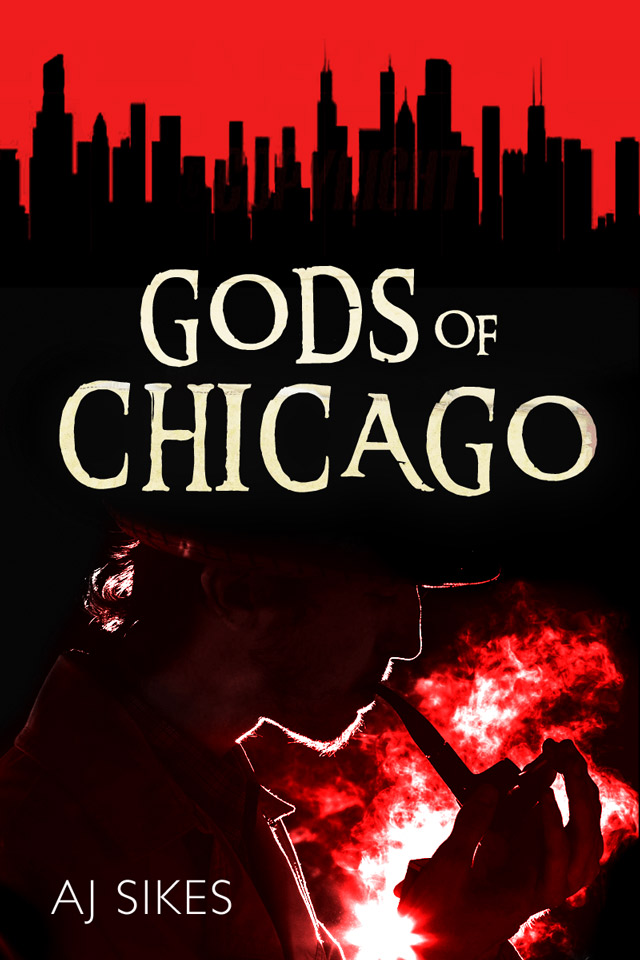 AJ Sikes, author of Gods of Chicago