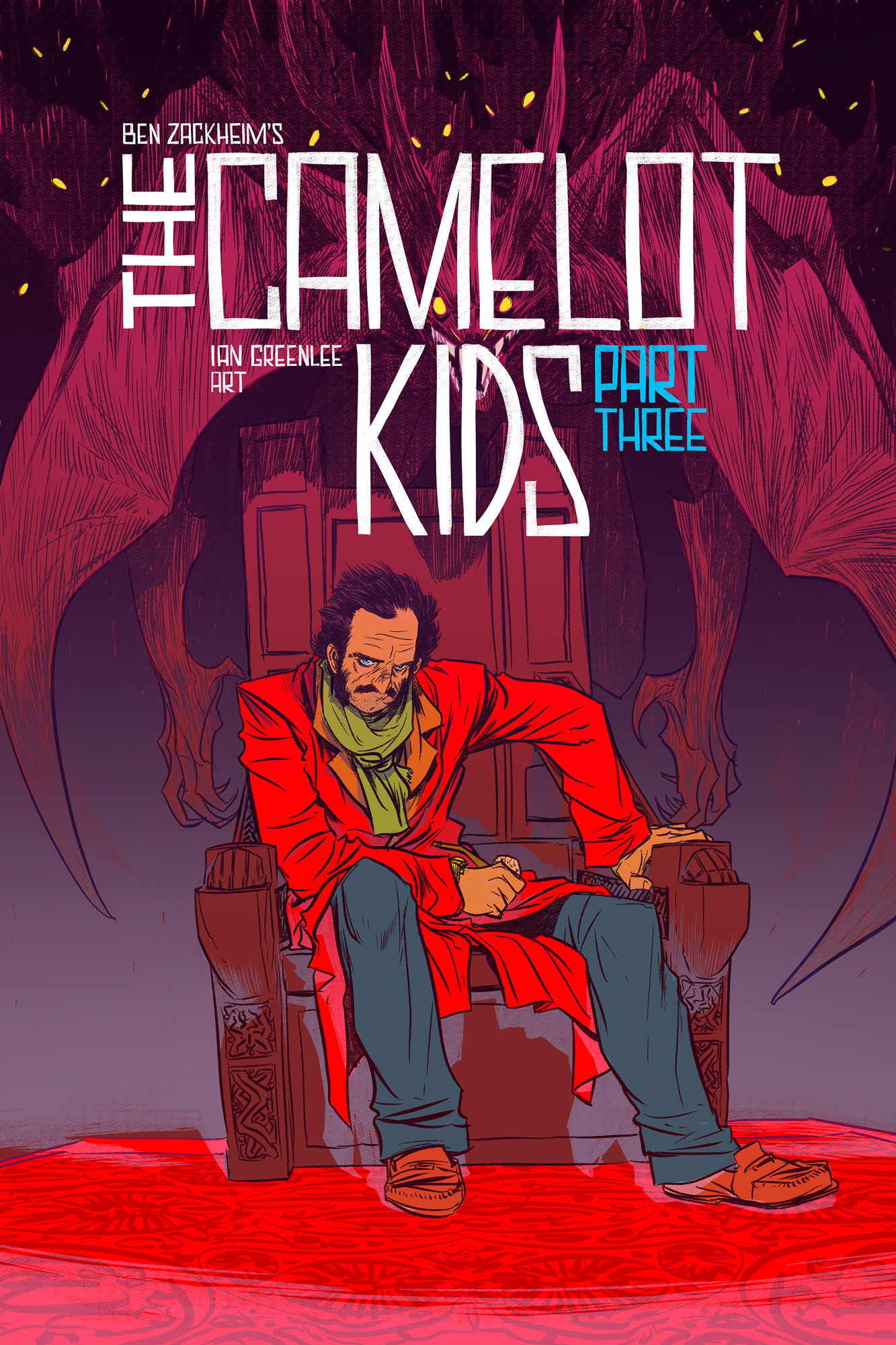 The Camelot Kids: Part Three has a cover! Nathan Fox's Uncle Victor is sweet.
