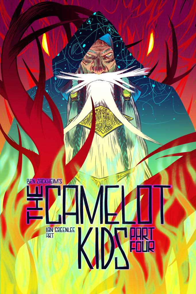 The Camelot Kids Part Four cover by Nathan Fox
