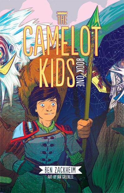 The Camelot Kids softcover is on sale now!