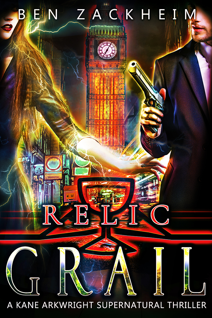 Relic Grail Supernatural Thriller