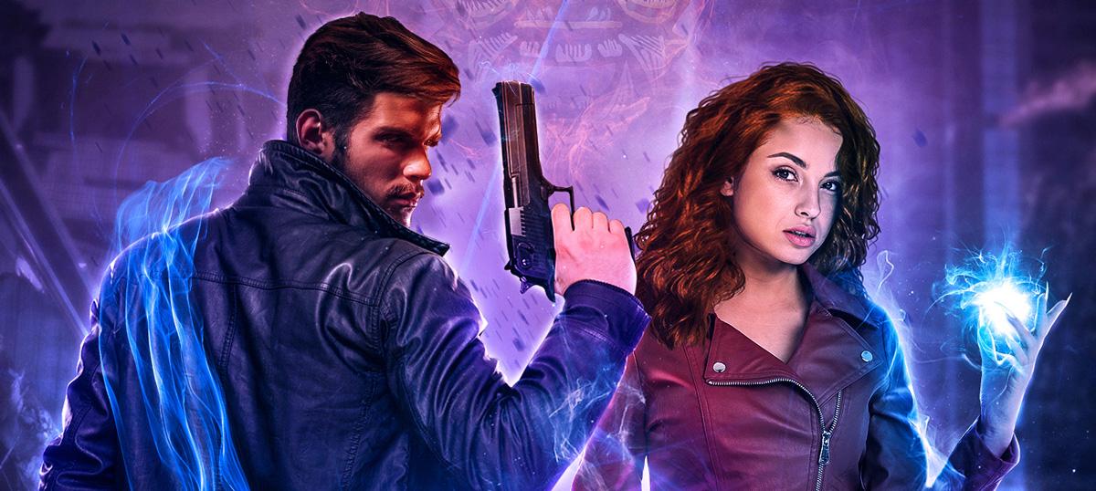 Relics Supernatural Thriller series banner