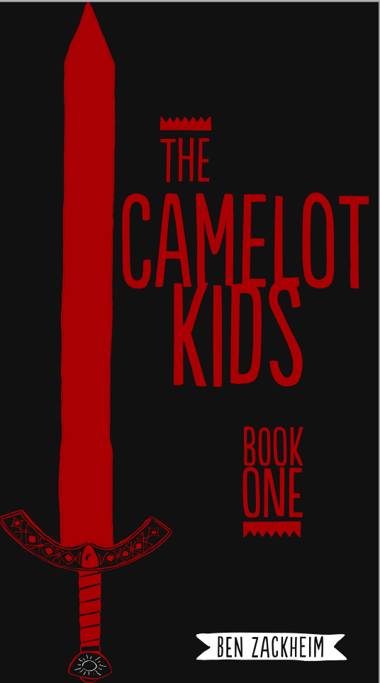 Cover to The Camelot Kids: Book One,