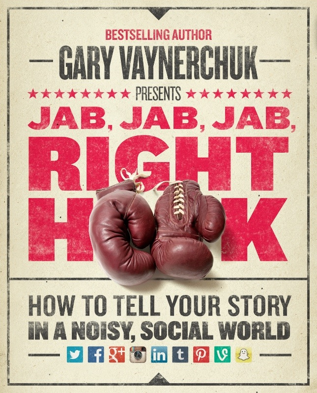 Jab, Jab, Jab, Right Hook by Gary Vaynerchuk: How Facebook is like a kidney punch
