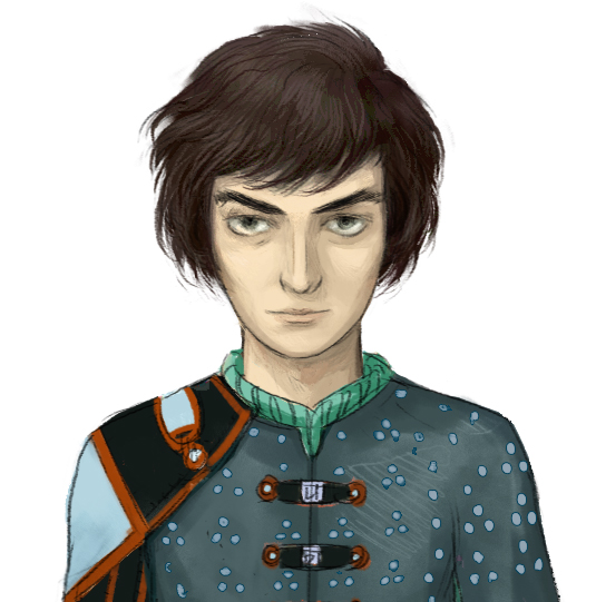 The Camelot Kids cast of characters #1: Simon Sharp