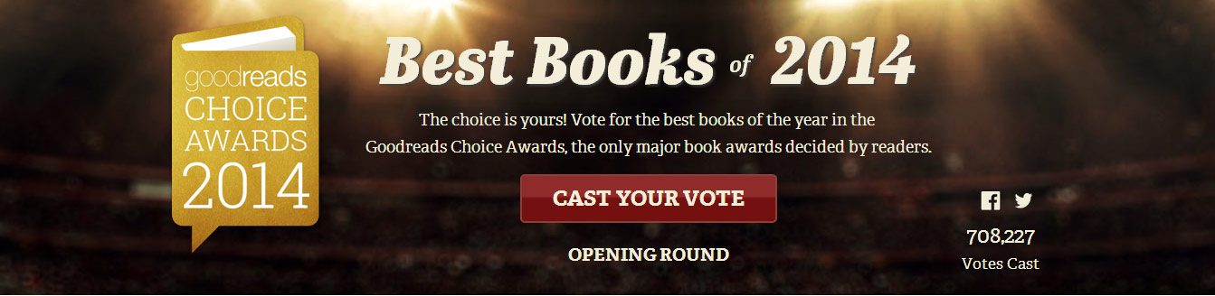 The Camelot Kids need your help! Nominate them for a Goodreads Choice Awards.